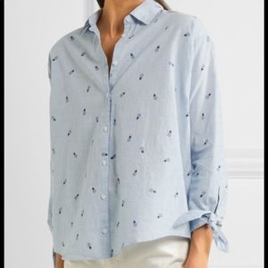 Madewell pineapple button down